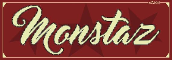 monstaz red and cream