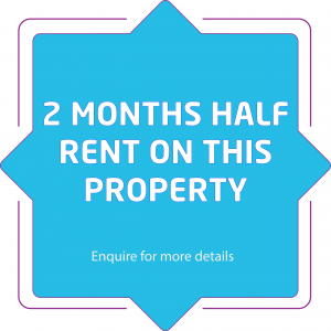 2 months half rent on property